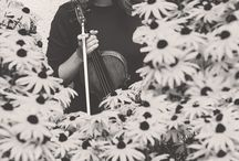 Music and faces / Music, photography, flowers