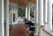 Decks and porches / by Rachel Downs