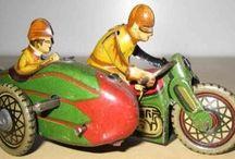 Motorcycles Motorbike Tin Toys / Tin Toys Bikes Cycles Motorcycles
