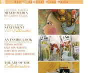 Magazines / I love these magazines! Every now and then my artwork is is published in some of those magazines :)