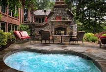 Fire pits & places / by Becky Adair