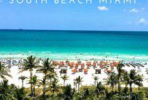 Miami beach summer