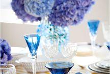 Something Borrowed, Something Blue.... / Blue wedding themes