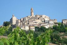 Petritoli, Le Marche, Italy / Walking the cobbled streets of Petritoli and seeing the hidden gems.