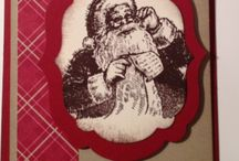 Stamping Up Santas List stamp