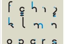Typography / Font design typography scripts