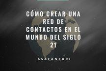 Cómo Crear Una Red de Contactos en el Mundo Del Siglo 21 / Asaf Zanzuri es un exitoso empresario con sede en México. Aquí, Asaf da consejos sobre las mejores formas de red en el mundo tecnológico de hoy.