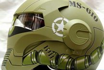 Head Gear / Some of the coolest helmets you will see
