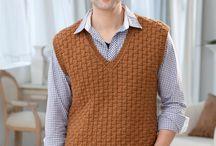 hombre chaleco, suéters y más