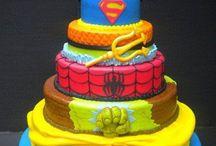 Boy super hero party