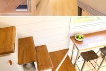 Tiny house // Petite maison / Les petites maisons, aménagements et déco