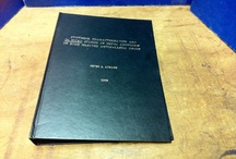 Thesis Binding - Covers / A gallery of our thesis and dissertation covers.