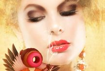 the bizarreness called beauty / hair, fashion, visagie, color, photography, inspiration