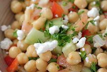 ensaladas y cocidas sanas