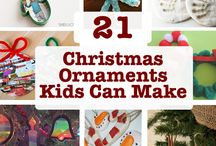 Christmas Ornaments Kids Can Make / Ornaments Kids Can Make! This is one of my very own favorite Christmas Traditions. In fact, even Santa gets a new Christmas Ornament every year! Twigs, Pinecones, Thumbprints, Paper plates, Salt Dough, Beads, you will find them all on this board. Have fun!! / by Letters from Santa