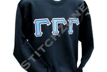 Gamma Gamma Gamma Sorority / Hoodies, Zip-ups, Lined Jackets and much more...