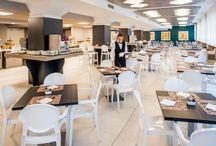 Sala Colazione / La Sala colazione dell'Hotel Da Vinci Milano