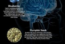 """Brain Food / """"Add these Brain Foods to your daily diet and see how it improves your brain power """""""