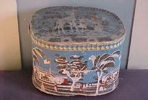 scatole di carta antiche