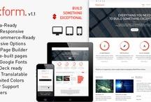 Web Design / Web design, Wordpress themes