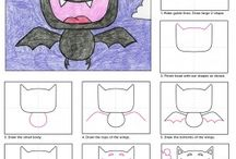 Kindergarten How to Draws for beginning of year