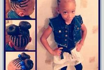Kids Afro braids hair / Kids Hair style