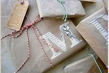 Verpackungen für Geschenke