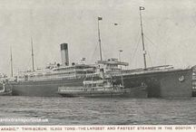 Grandad Thomas Hopley Ships / Found some photos  of the ships my Grandad Thomas Hopley Sailed on from Liverpool from 1906 untill 1909  RMS Lusitania RMS Republic RMS Celtic SS Cevic  SS Ambrose  SS Armenian  SS Anthony  SS City Of venice  SS Megantio SS Canadian  SS Jerome  SS Arabic....