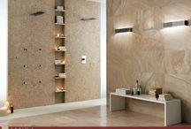 Rivestimenti Bagno / E' tempo di rinnovare il bagno! Il primo ostacolo è la scelta del rivestimento: fino al soffitto o a metà altezza? Colorato o sobrio? Effetto legno o pietra? Ecco alcuni suggerimenti per scegliere la soluzione più adatta a te!