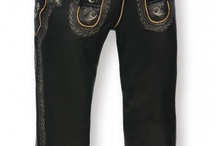 Trachten Lederhosen over knee / These high-quality leather breeches are durable and comfortable like no other trousers! New colours and many carefully chosen details that thave been added to the original design make these leather breeches a modern fashion item that matches casual wear perfectly and can be worn everyday! http://www.trachten-dirndl-shop.co.uk
