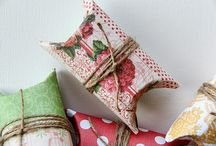 Pillow boxes and party favors