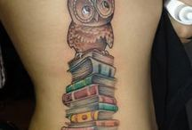Bookish Body Art & Fashion / A collection of bookish tattoos and clothing