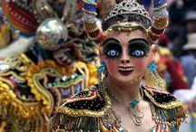 Bolivian carnival