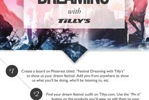 Festival Dreaming with Tilly's / Good Music. Good Friends. Good Vibes. ☀️ / by Danielle Nydam
