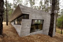 architecture: concrete houses