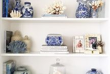 Blue and White Love