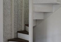 Trapp fra loftet og ned