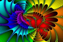 "Fractal Art / Mathematician Benoit Mandelbrot coined the term ""fractal"" in 1975 to describe a shape that appears similar at all levels of magnification. Fractals occur everywhere in nature."