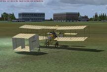 Aviation virtuelle / Modèles FSX souvent gratuits. Voyages virtuels avec des avions de différentes époques.