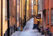 Picturesque streets