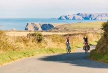 Cycling in Pembrokeshire / Cycle routes, cycle services, generally bike love