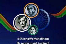 Shining Women Of India