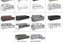 3DS Max furniture models / 3DS Max sink models for use in your ach viz cgis.
