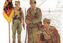 Spanish civil war. Nationalist