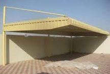 """"""" Aluminium Car Parking Shades Dubai 0505773027"""