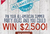 Have an All American Summer Sweepstakes / How would you plan your perfect summer celebration? Create your own Pinterest board for an All-American summer and share it with us at NabiscoSummer.com!  / by Nabisco