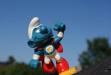 Smurfs village / I have taken this photos from my husbands vintage smurf collection, hope you will enjoy!
