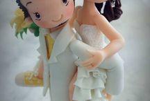 muñeco de torta