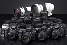 DSLR cameras, DSLR camera accessories / information, pictures, links about DSLR cameras, DSLR camera lens, mirrorless interchangeable lens cameras, DSLR camera accessories; focus on Sony, Canon, Nikon, Pentax / by Ben Loki
