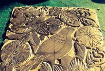 Woodcut and Lino Printing